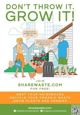 ShareWaste - Give your waste a second chance!
